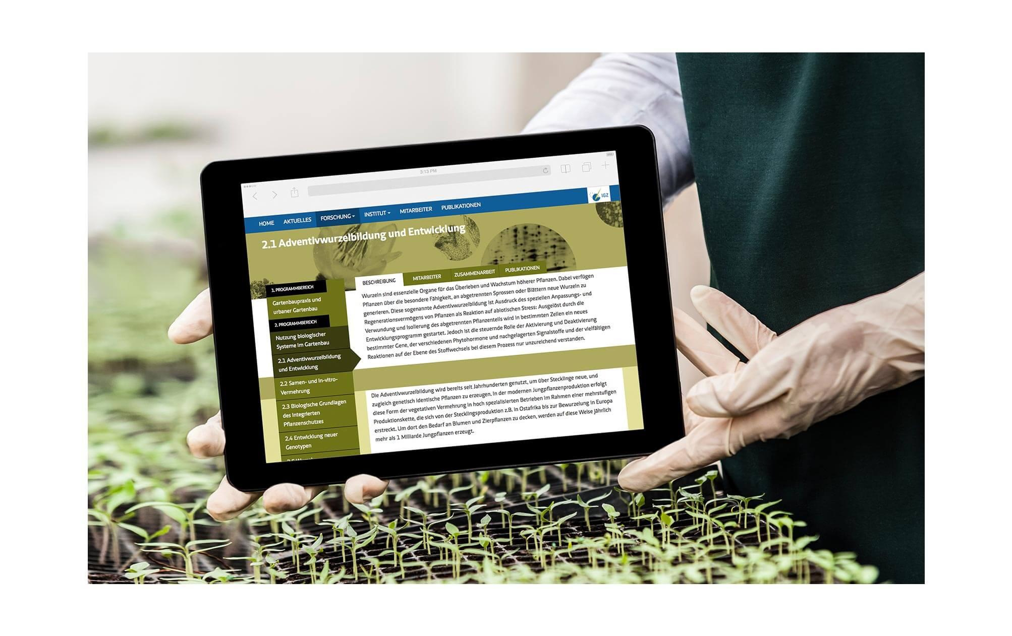 360VIER_IGZ_Case-Study_Slider-01 Leibniz Institut für Gemüse- und Zierpflanzenbau e.V.