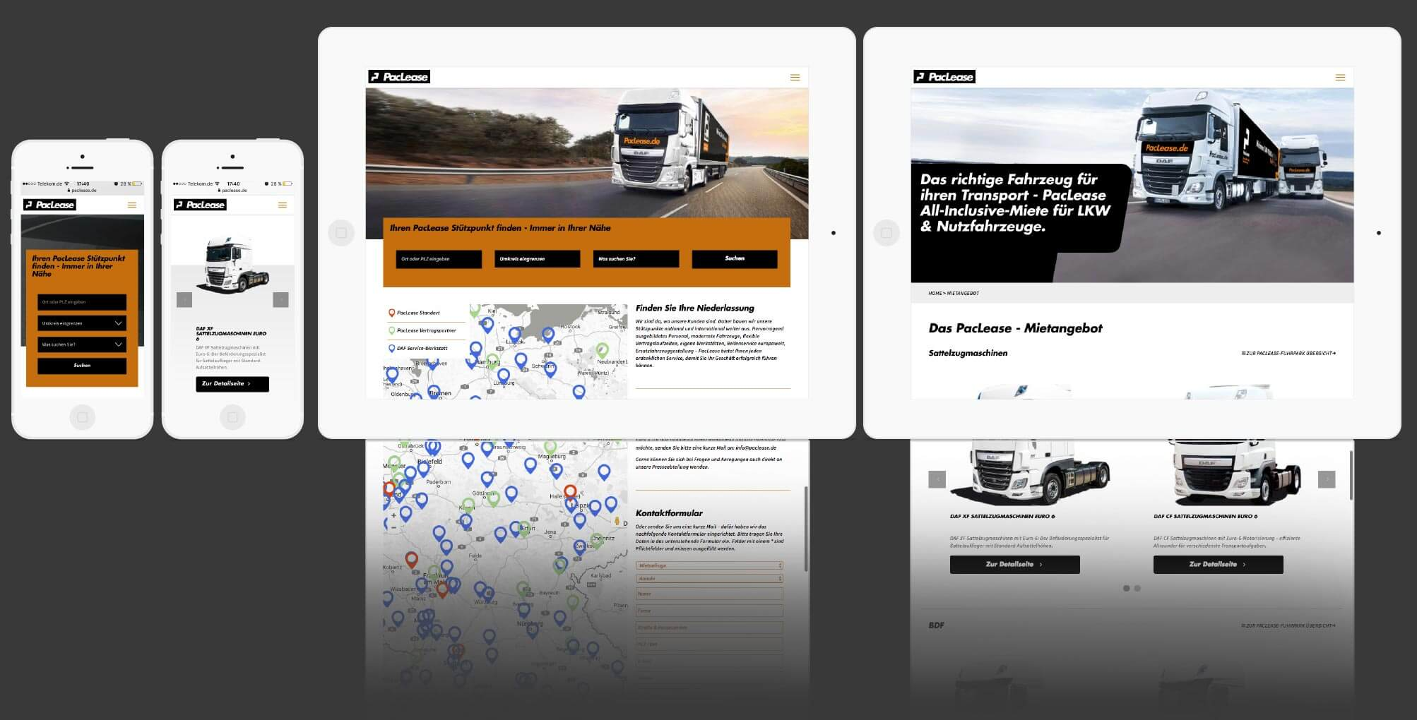 360VIER_Paclease_Website_iPad Paccar Leasing Deutschland GmbH