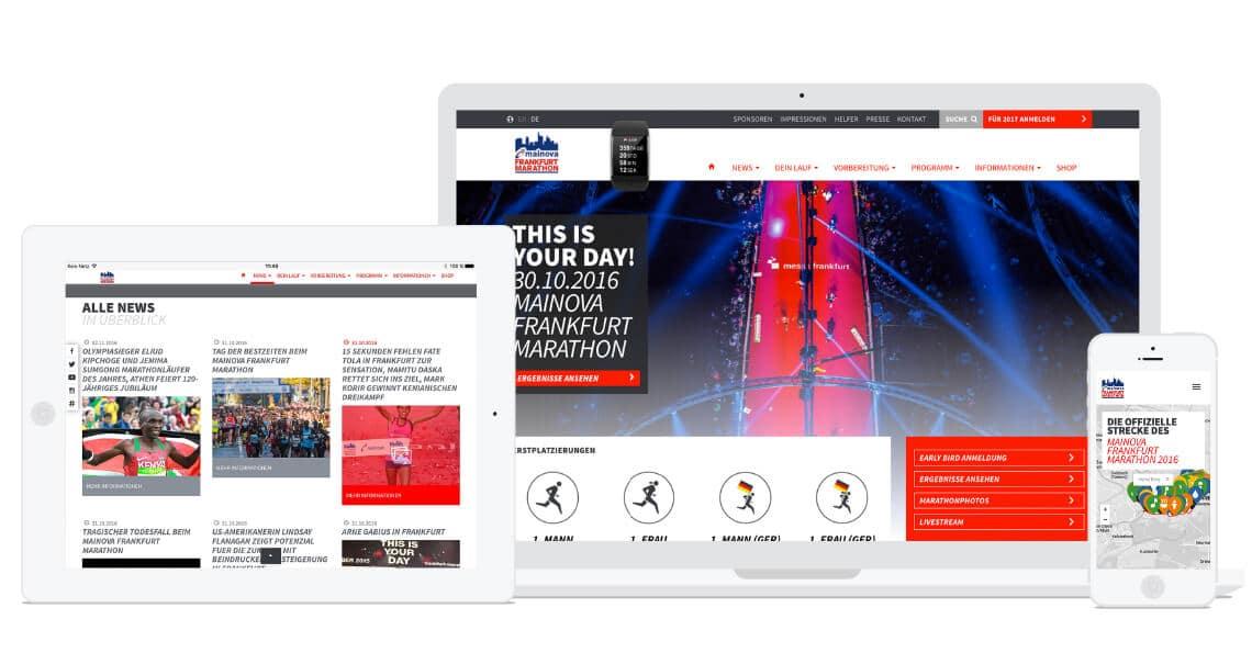 360VIER_Webreferenz_Frankfurt-Marathon_02 WordPress bringt 30% des Internets zum Laufen.