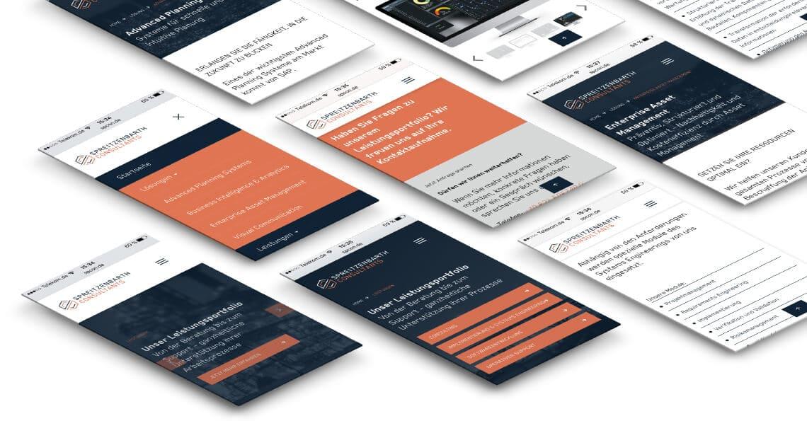 360VIER_Webreferenz_Spreizenbarth-consulting_02 Webdesign Mainz
