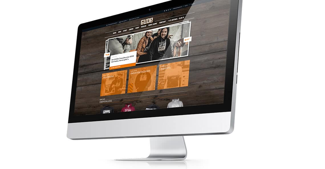 360vier_referenz-auszug_gude-screen Webdesign