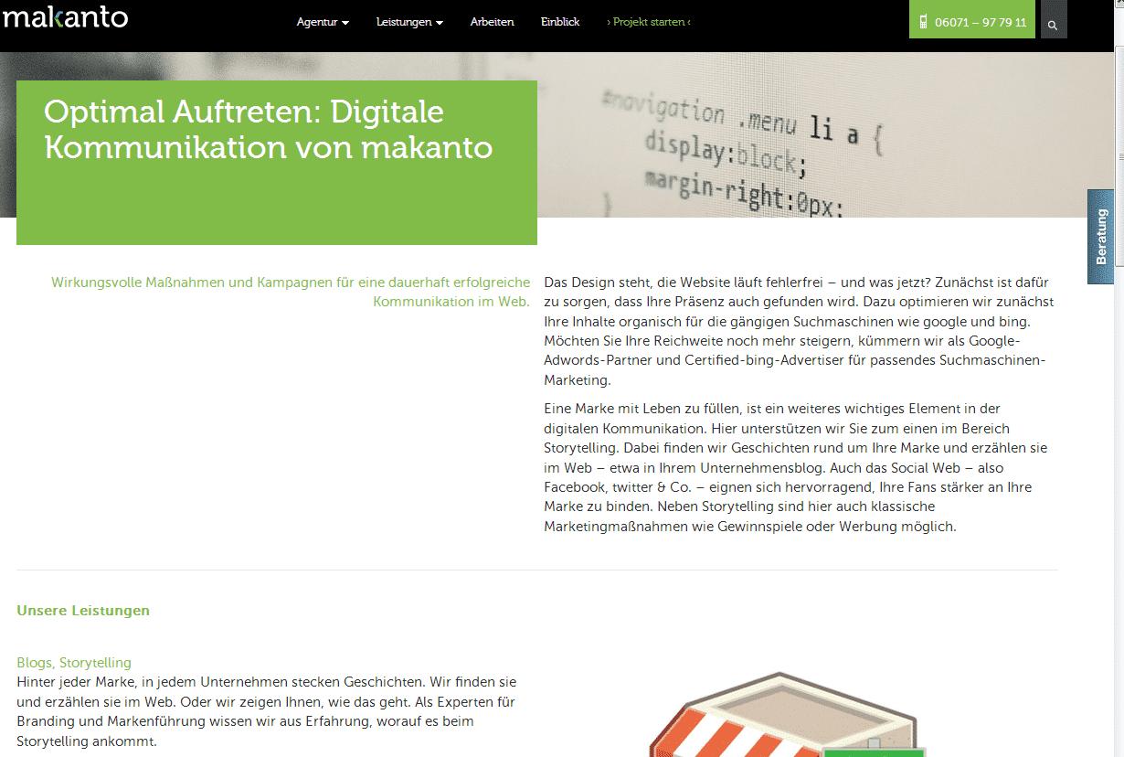 makanto-screen-05 Schön, informativ, responsive: die neue Website von 360VIER