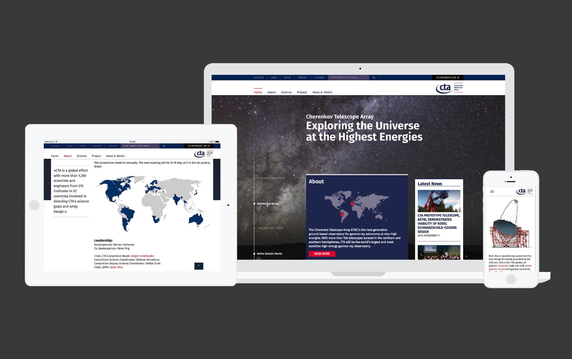 360VIER_CTAO_Bild_Website_Entwicklung 360VIER ist vier mal für den German Design Award nominiert