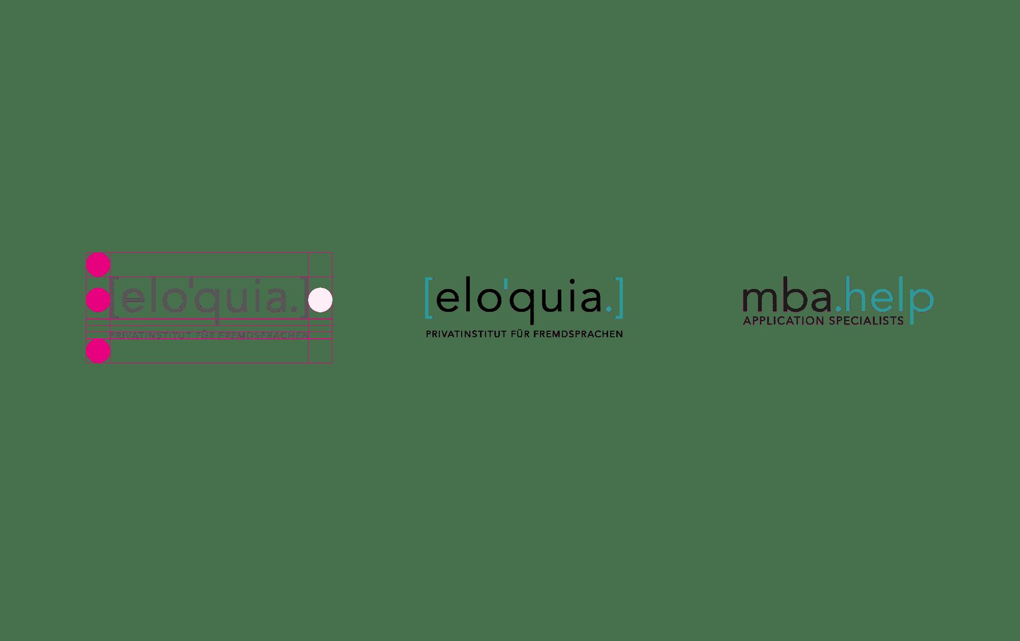 360VIER_Eloquia_Case-Study_CD_logo-konzept [elo'quia.] Sprachinstitut Frankfurt am Main