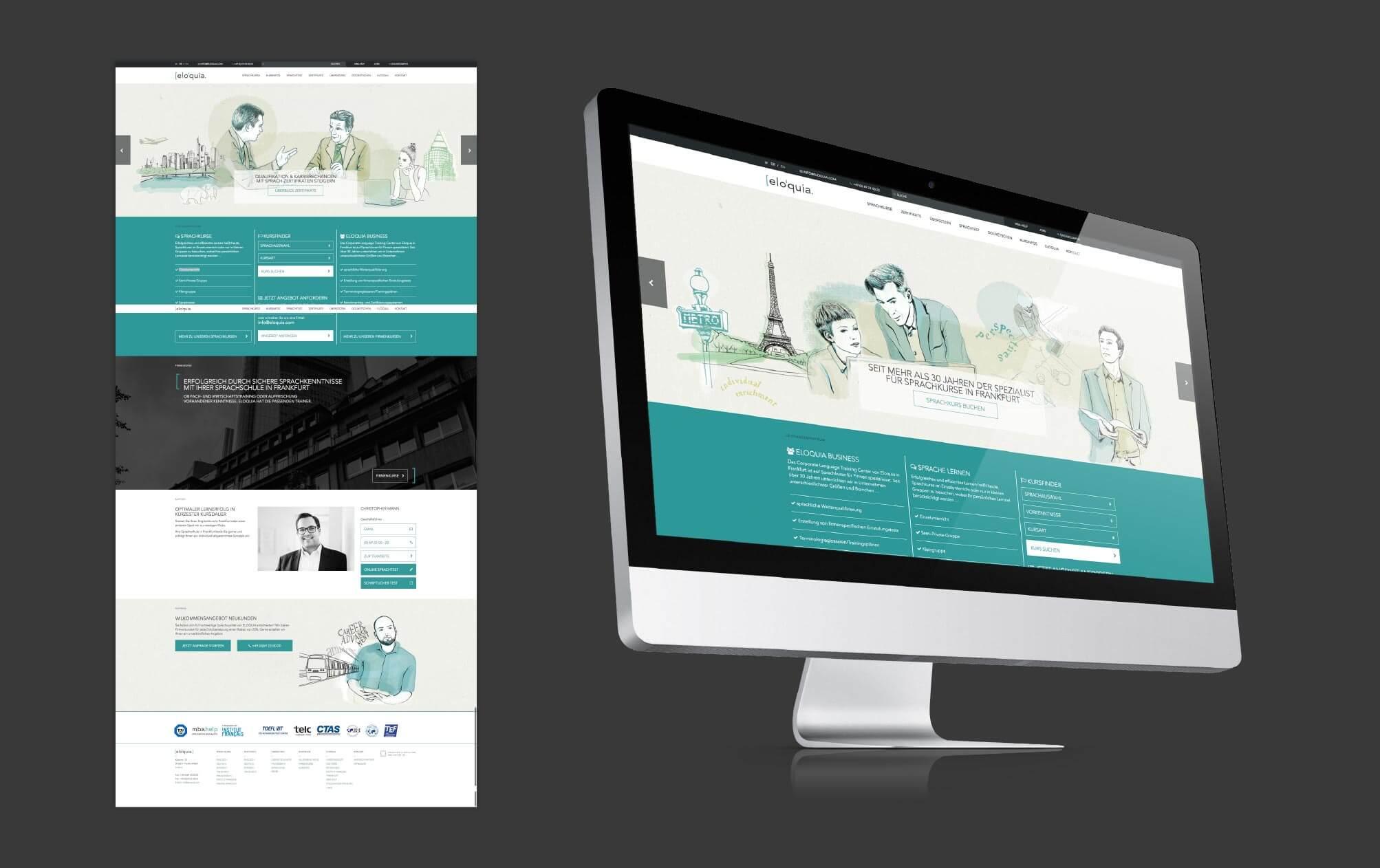 360VIER_Eloquia_Case-Study_Slider-website_1 [elo'quia.] Sprachinstitut Frankfurt am Main
