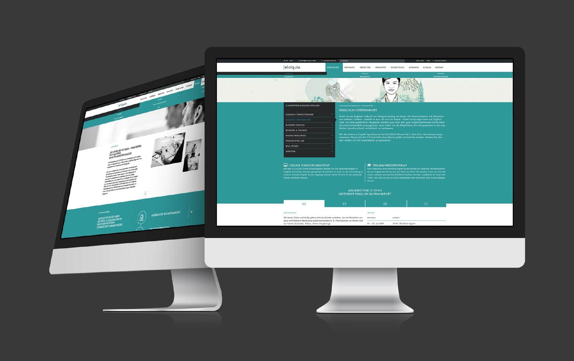 360VIER_Eloquia_Case-Study_Slider-website_2 [elo'quia.] Sprachinstitut Frankfurt am Main