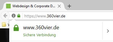 screenshot-sichere-verbindung-ausführlich-360vier https, http/2 und SSL – Sicherheit die schneller macht und besser ranked.