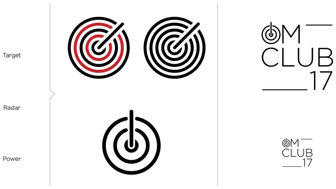 360VIER_OmClub_logodraft_power OMClub Redesign: Von 0 auf 333 in 30 Sekunden