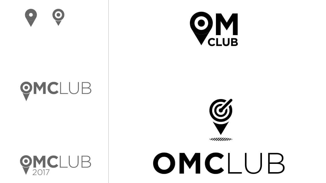 360VIER_OmClub_logodraft_target OMClub Redesign: Von 0 auf 333 in 30 Sekunden